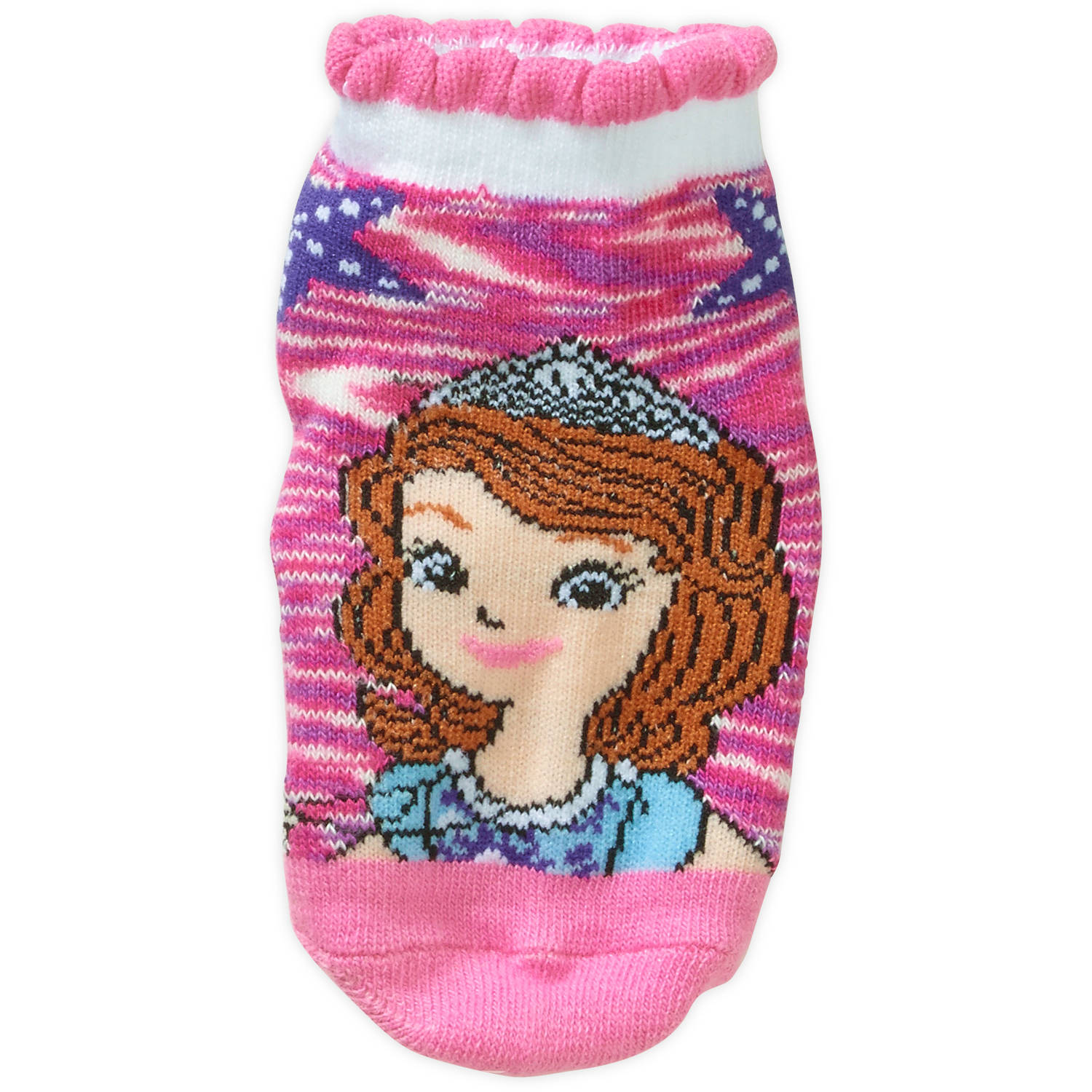 Sofia The First Princess Toddler Girl Quarter Socks, 3-Pack