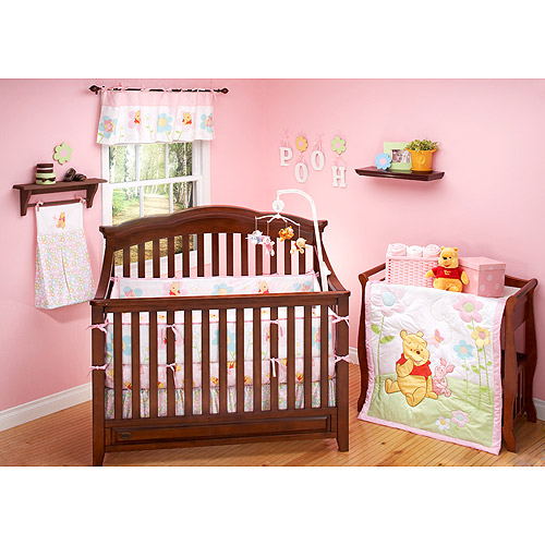 Disney - Pooh Sweetest Hunny 4-Piece Crib Bedding Set