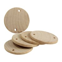 """Woodpeckers Package of 100 - 1-1/2"""" Wooden Birthday Board Tags Circles"""