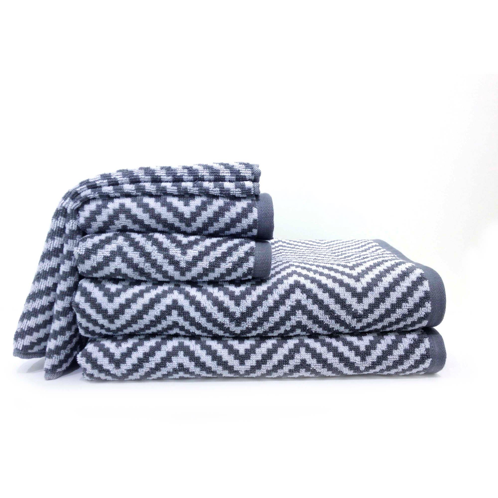 Better Homes and Gardens Chevron Bath Towel Collection Walmartcom