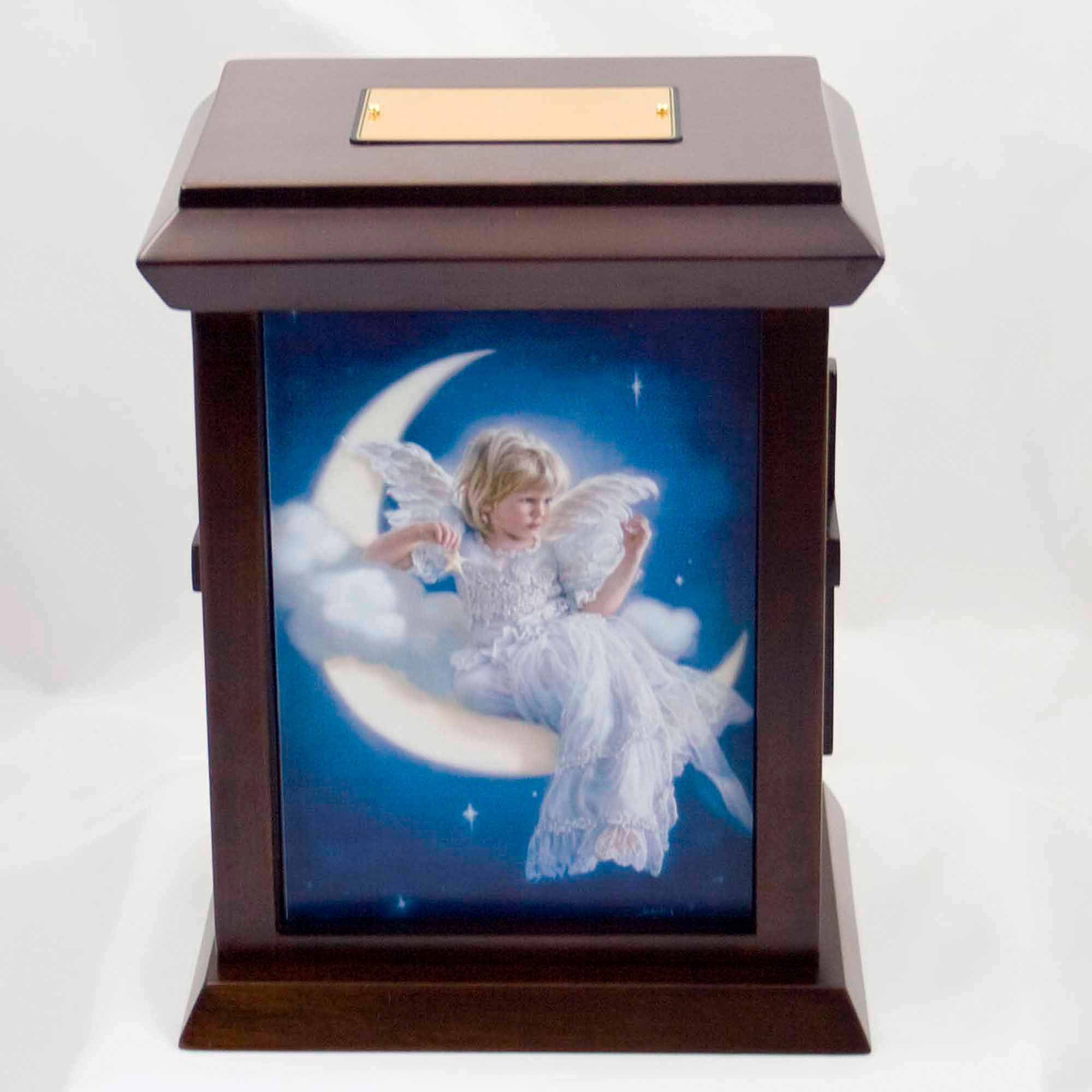 Sandra Kuck's Rendezvous with Heaven Wood Urn