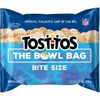 Tostitos Bowl Bag Bite Size Tortilla Chips 11.5 Ounce Plastic Bag