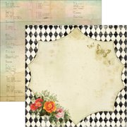 """Junque Gypsy Double-Sided Cardstock 12""""X12""""-Nota Bene"""