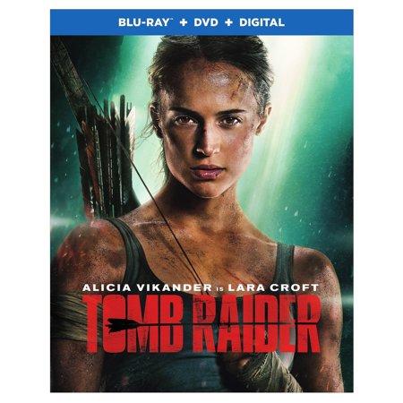 Tomb Raider (2018) (Blu-ray + DVD + Digital) (VUDU Instawatch Included) (VUDU Instawatch - Tomb Raider Costumes