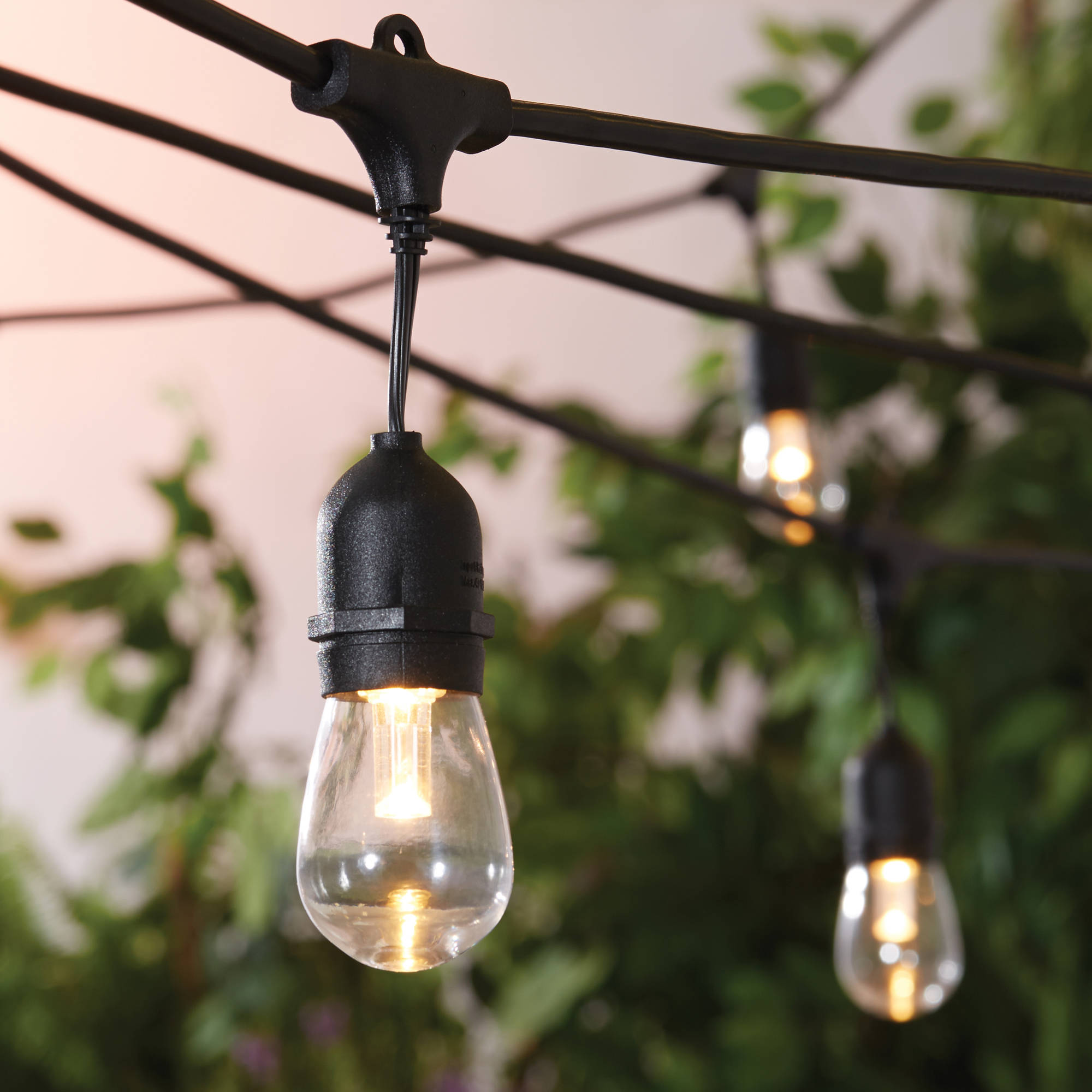 Better Homes and Gardens Outdoor LED Cafe String Lights