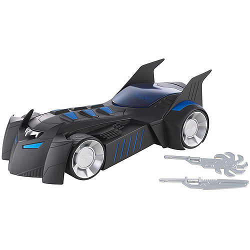 Batman Total Destruction Batmobile with Power Attack Fires Missiles