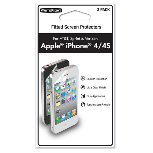 backup my iphone 3pk writerights for iphone 4 4s walmart 4286