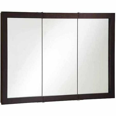 Mahogany medicine cabinet mirror
