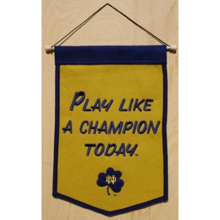 Notre Dame Fighting Irish NCAA Play Like A Champion Today