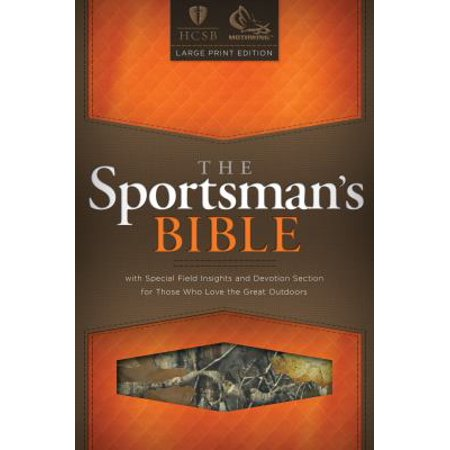 The Sportsman's Bible: Holman Christian Standard Bible, Camo Cover, Bonded Leather