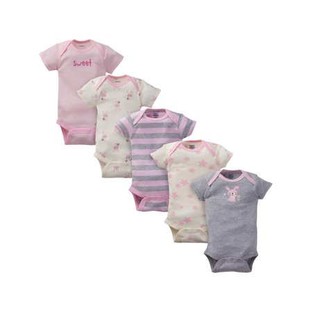 S /& T World Products I Love NY Babies Onesie 100/% Soft Cotton Pink