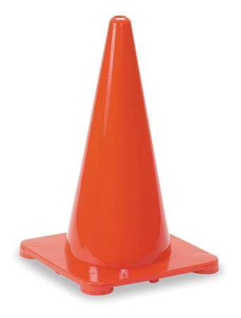 ZORO SELECT 6FGY6 Traffic Cone,4 In.Orange
