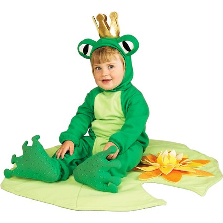 Lil' Frog Prince Infant Halloween Costume - One Size](Lil Wayne Costume For Halloween)