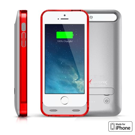 Alpatronix BX120 2400mAh iPhone 5 / 5S / SE Slim Battery Case Charger Cover