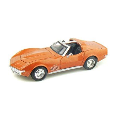 1970 Corvette 1/24 Bronze By Chevrolet 1970 Chevrolet Corvette