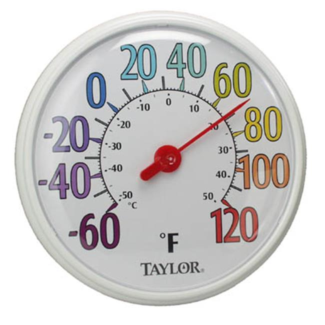 Taylor Precision 6714 13.5 in. Color Dial Thermometer
