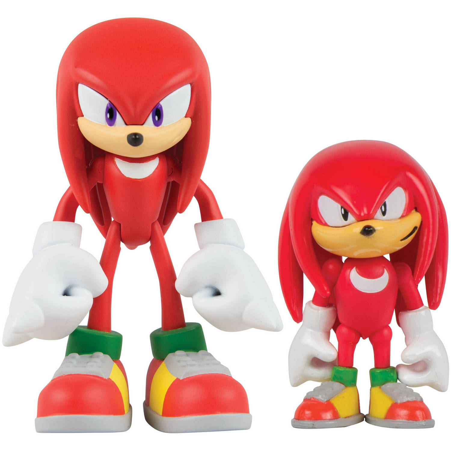 Sonic Collector Series 2-Figure Pack with Comic, Classic Knuckles and Modern Knuckles