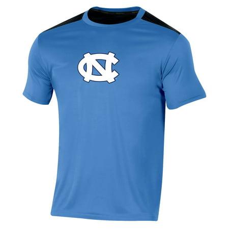 Tar Heels Athletics - Men's Russell Carolina Blue North Carolina Tar Heels Synthetic Colorblock Crew T-Shirt