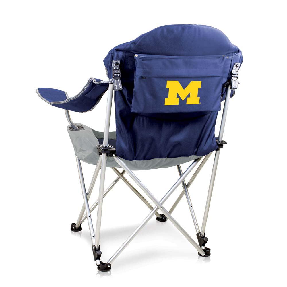 Michigan Reclining Camp Chair (Navy)