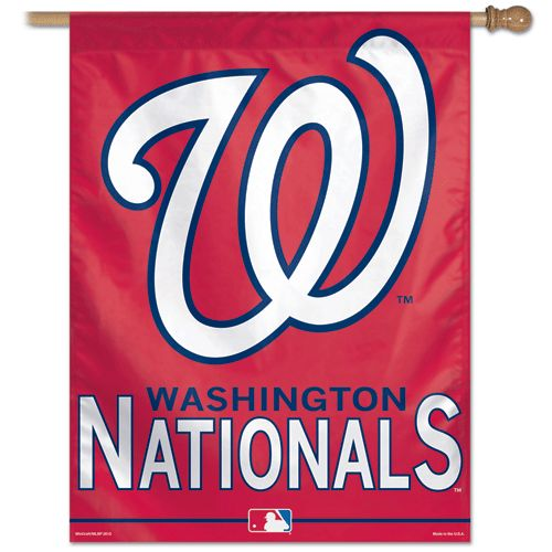 "Washington Nationals 27""x37"" Banner by Wincraft, Inc."