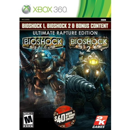 Bioshock Ultimate Rapture Edition (Xbox 360) - (Diablo 3 Xbox 360 Ultimate Evil Edition)