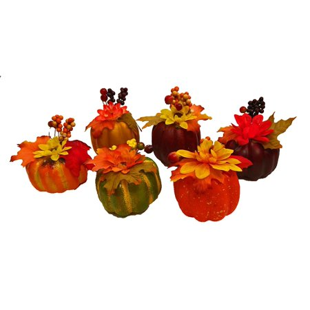 Set of 6 Black Duck Brand Artificial Decorative Harvest 4