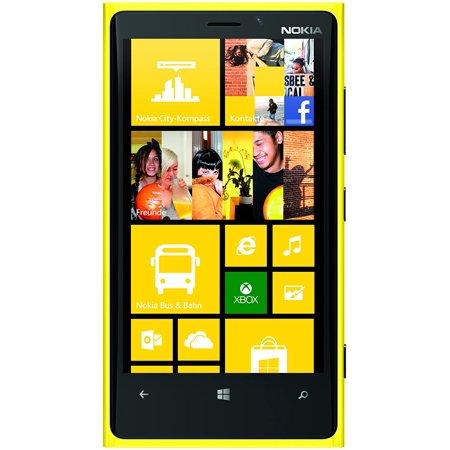 Refurbished Nokia Lumia 920 32Gb At T Gsm Unlocked  Yellow