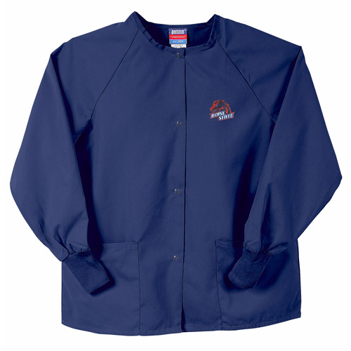 NCAA MWC - Snapfront Scrub Jacket with Pockets