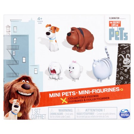 spin master the secret life of pets mini pets collectible figures 4 years. Black Bedroom Furniture Sets. Home Design Ideas