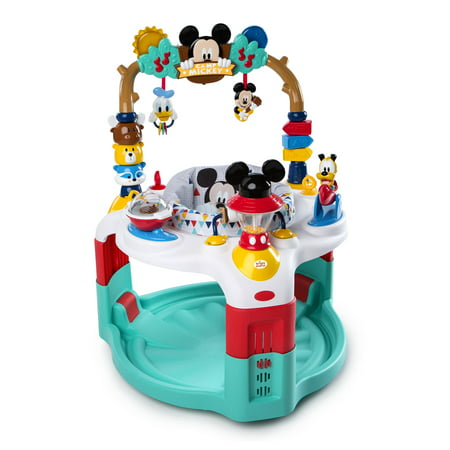 Disney Baby Mickey Mouse Activity Saucer - Camping with (Saucer Cones)