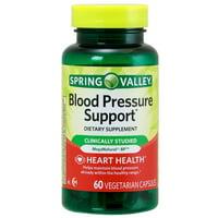 Spring Valley Blood Pressure Support* 60 Vegetarian Capsules