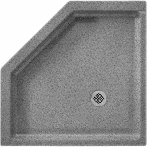 """Swan SS-36NEO-010 36"""" x 36"""" Swanstone Shower Base (Drain Included), Available in Various Colors"""