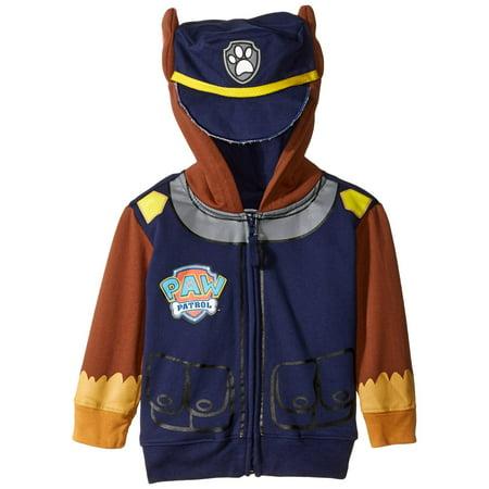 Paw Patrol Chase Navy Toddler Costume Hoodie (Change Hoody)