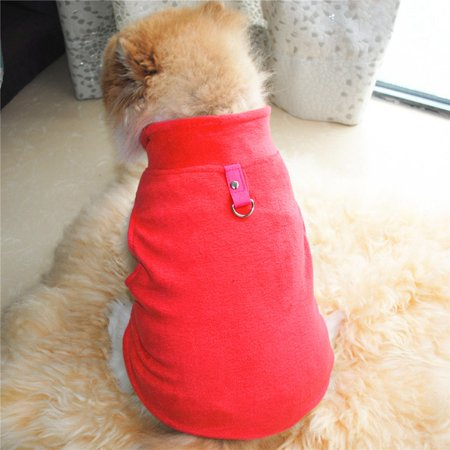 Sweetsmile Pet Dog Polar Fleece Clothes Pet Vest For Small Dogs Puppy Winter Warm Coat Apparel Clearance Sale