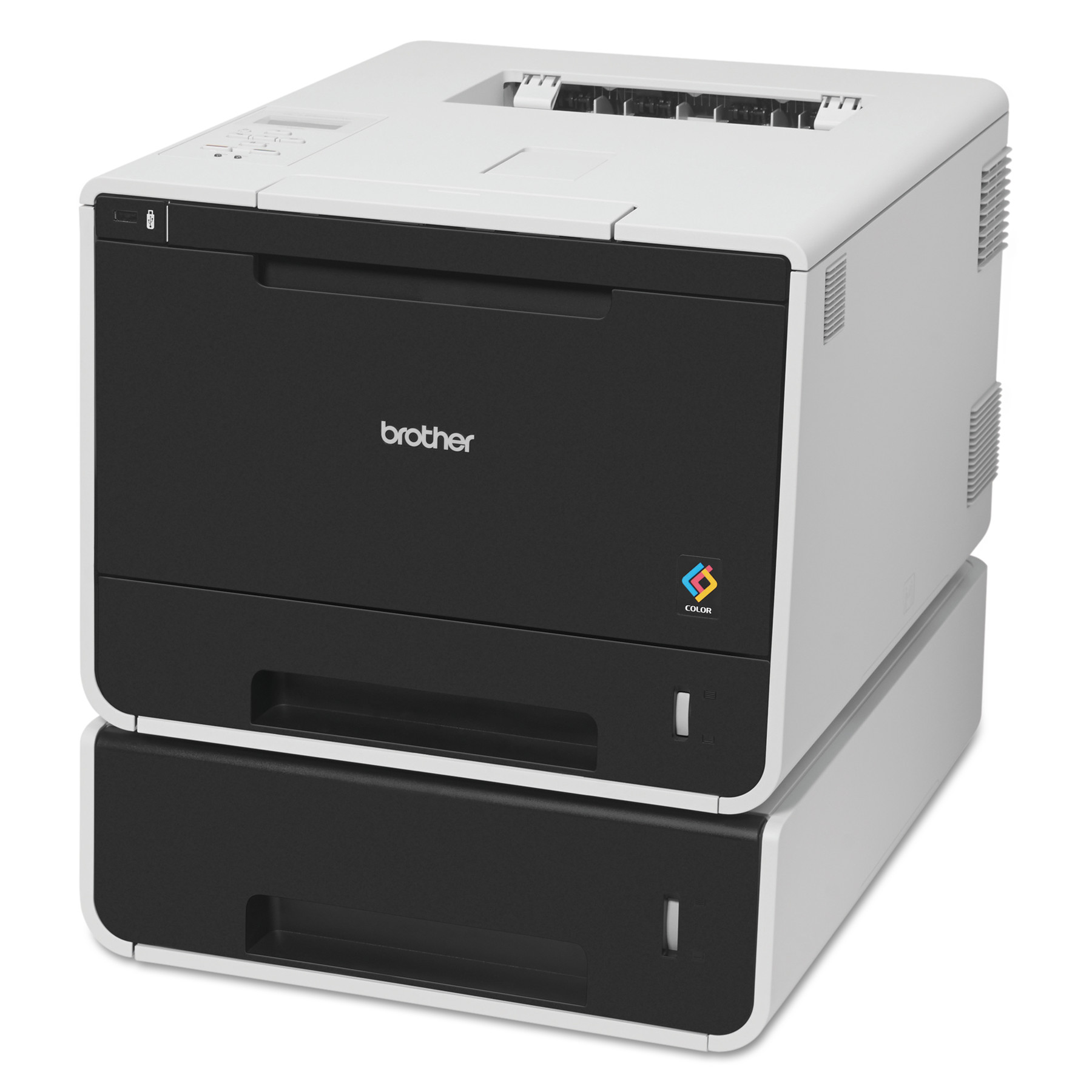 Color printers laser - Brother Hl L8350cdwt Color Laser Printer With Wireless Networking And Dual Paper Trays Walmart Com