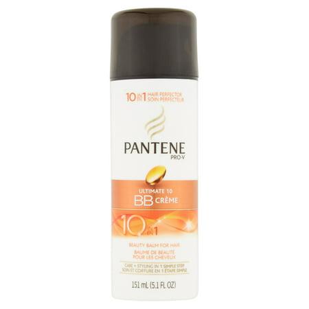 Pantene Pro-V Ultime 10 BB Crème Baume Beauté pour cheveux, 5.1 FL OZ