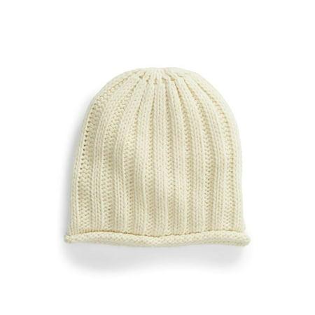 Free People | Rory Rib Knit Beanie | Cream Rib Knit Hat
