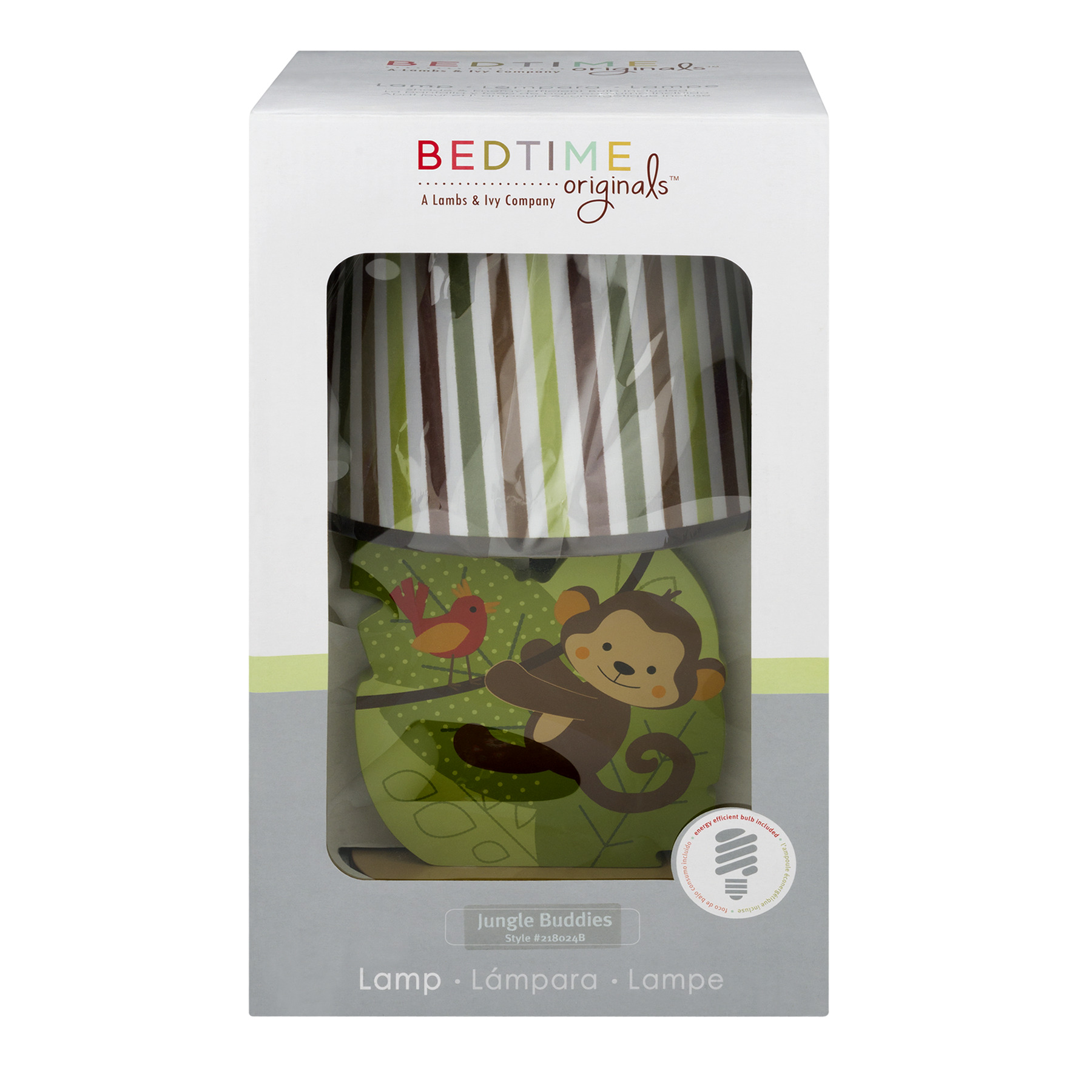 Bedtime Originals Lamp Jungle Buddies - 1.0 CT1.0 CT