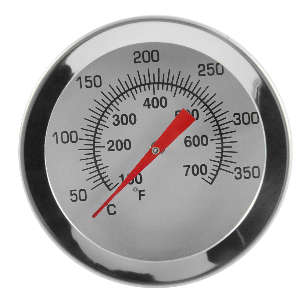 Stainless Steel Cooking Oven Thermometer Probe Thermometer Food Meat Gauge by