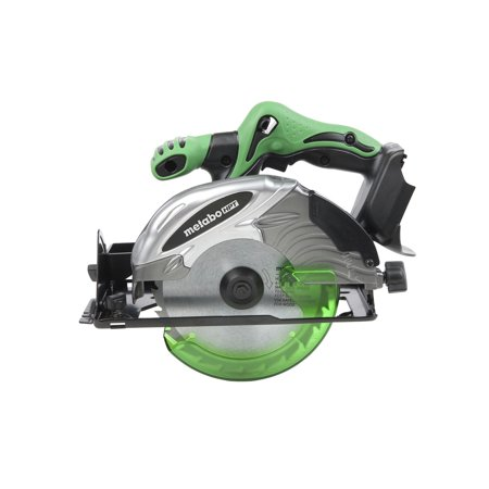 Metabo HPT C18DSLQ4M 18V Cordless Lithium-Ion 6-1/2 in. Circular Saw with Electric Brake (Tool Only) Metabo Circular Saw