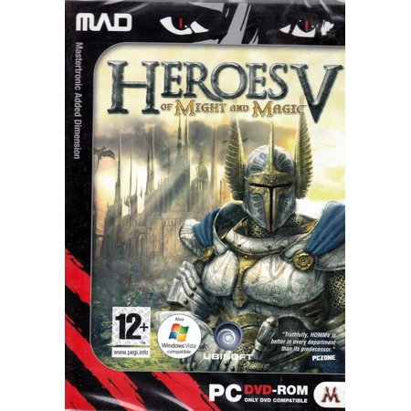 Heroes of Might & Magic 5 (V) PC DVDRom - Master 6 Factions & More than 80 Creatures and Lead them into Tactical