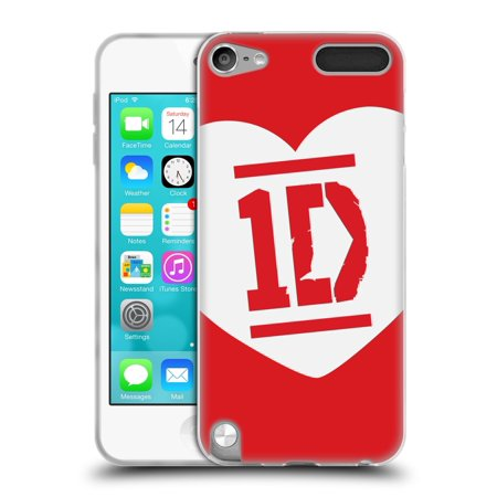 OFFICIAL ONE DIRECTION LOVE 1D SOFT GEL CASE FOR APPLE IPOD TOUCH MP3 ()