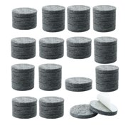 """70pcs Felt Furniture Pads Round 7/8"""" Floor Protector for Table Chair Legs"""