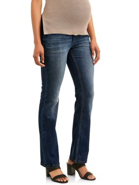 Maternity Time and Tru Bootcut Jean with Full Panel and 5 Pockets