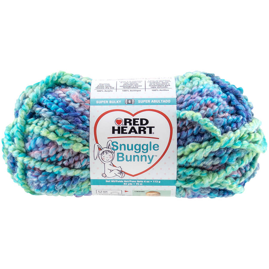 Red Heart Snuggle Bunny Yarn, Available in Multiple Colors