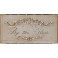Announcing Wine By the Glass Stretched Canvas - Arnie Fisk (10 x 20)