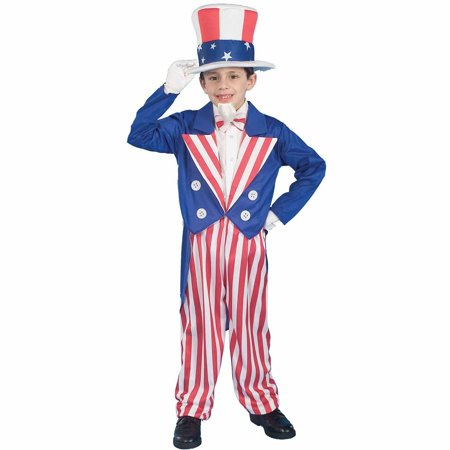 Uncle Sam Child Halloween Costume for $<!---->
