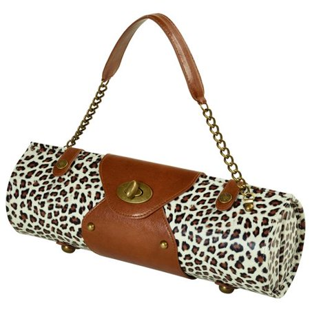 Picnic At Ascot Snow Leopard Wine Carrier/Purse - Villain From Snow White