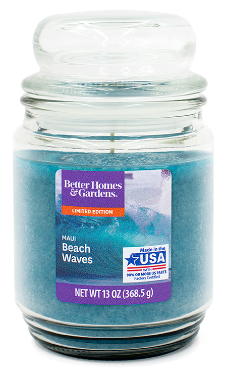 Maui Beach Waves LIMITED EDITION Better Homes and Gardens 18 oz Candle