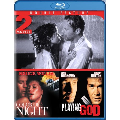 The Color Of Night / Playing God (Blu-ray) (Widescreen)